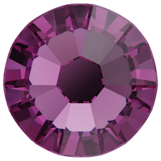 2058 SS08 (2.4 mm - No hotfix)-Amethyst