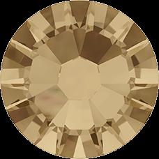 2038 SS08 (2.4 mm - Hotfix)-Crystal Golden Shadow