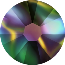 2038 SS06 (2 mm - Hotfix)-Crystal Rainbow Dark