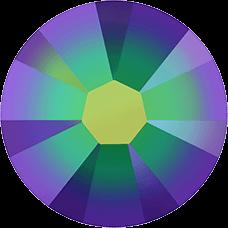 2038 SS06 (2 mm - Hotfix)-Crystal Scarabaeus Green