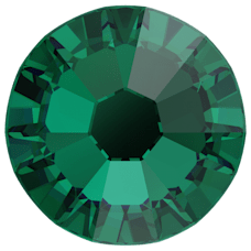 2058 SS08 (2.4 mm - No hotfix)-Emerald