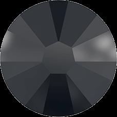 2058 SS09 (2.6 mm - No hotfix)-Jet Hematite