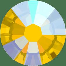 2038 SS06 (2 mm - Hotfix)-Light Topaz Shimmer