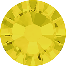 2038 SS10 (2.8 mm - Hotfix)-Yellow Opal