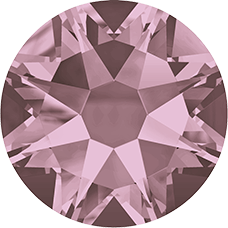 2078 SS12 (3 mm - Hotfix)-Crystal Antique Pink