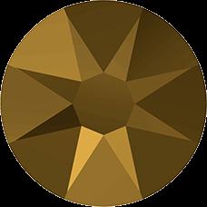 2078 SS20 Hotfix - 48 Stuks-Crystal Dorado