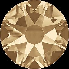 2078 SS16 Hotfix - 144 Stuks-Crystal Golden Shadow