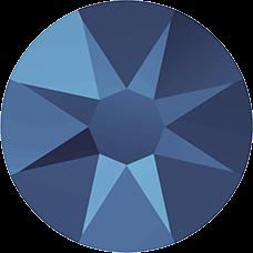 2078 SS20 (4.6 mm - Hotfix)-Crystal Metallic Blue