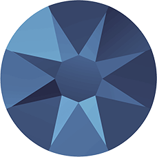 2078 SS34 (7 mm - Hotfix)-Crystal Metallic Blue