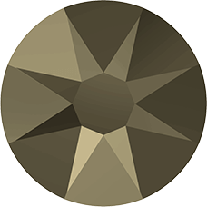 2078 SS16 (3.8 mm - Hotfix)-Crystal Metallic Light Gold