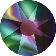 2078 SS12 (3 mm - Hotfix)-Crystal Rainbow Dark