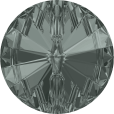 3015 Swarovski knoop 12 mm-Black Diamond