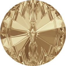 3015 Swarovski knoop 10 mm-Crystal Golden Shadow