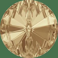3015 Swarovski knoop 12 mm-Crystal Golden Shadow