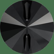 3015 Swarovski knoop 27 mm-Jet