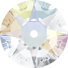 3188 Xirius Lochrose 6MM-Crystal AB