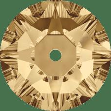3188 Xirius Lochrose 3MM-Crystal Golden Shadow