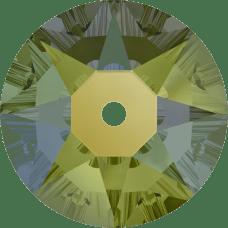 3188 Xirius Lochrose 4MM-Crystal Iridescent Green