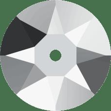 3188 Xirius Lochrose 6MM-Crystal Light Chrome