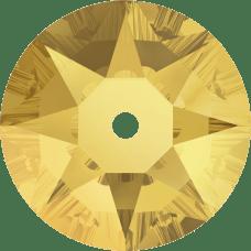 3188 Xirius Lochrose 4MM-Crystal Metallic Sunshine