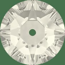 3188 Xirius Lochrose 4MM-Crystal Silver Shade