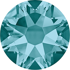 2078 SS16 Hotfix - 48 Stuks-Blue Zircon